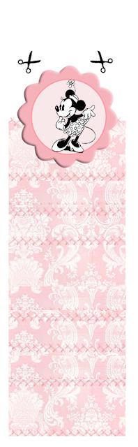 Minnie Vintage: Envoltorios Gratis para Paquetes de Chicles o Golosinas.