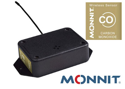 Wireless Carbon Monoxide Sensor (CO) Sensor GAS