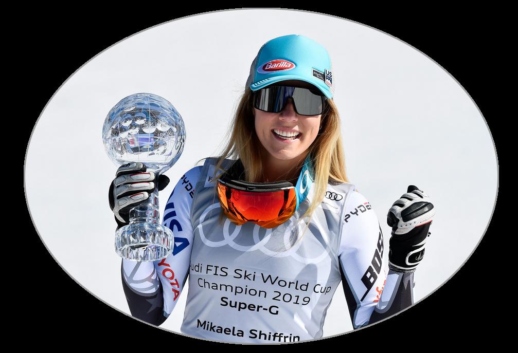 Mikaela Shiffrin glóbus Super-G - Andorra 2019