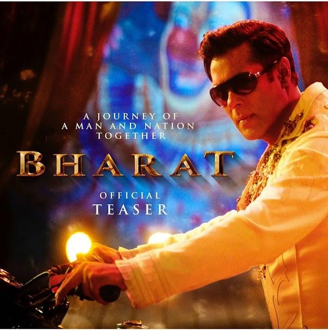 Bharat Teaser: Salman khan , Katrina kaif , Dishha patani