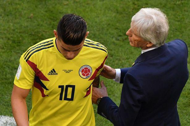 James Rodriguez chấn thương, Colombia lo phát sốt
