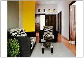 kombinasi warna cat ruang tamu menurut feng shui kuning