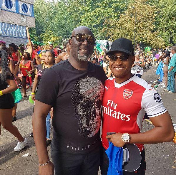 See Photos! Senator Dino Melaye Having Fun At Notting Hill Carnival 2017 in London