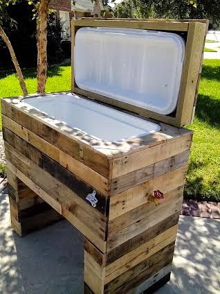 Diy Wood Cooler Box