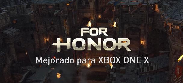 For Honor muestra cómo luce en Xbox One X, recién mejorado