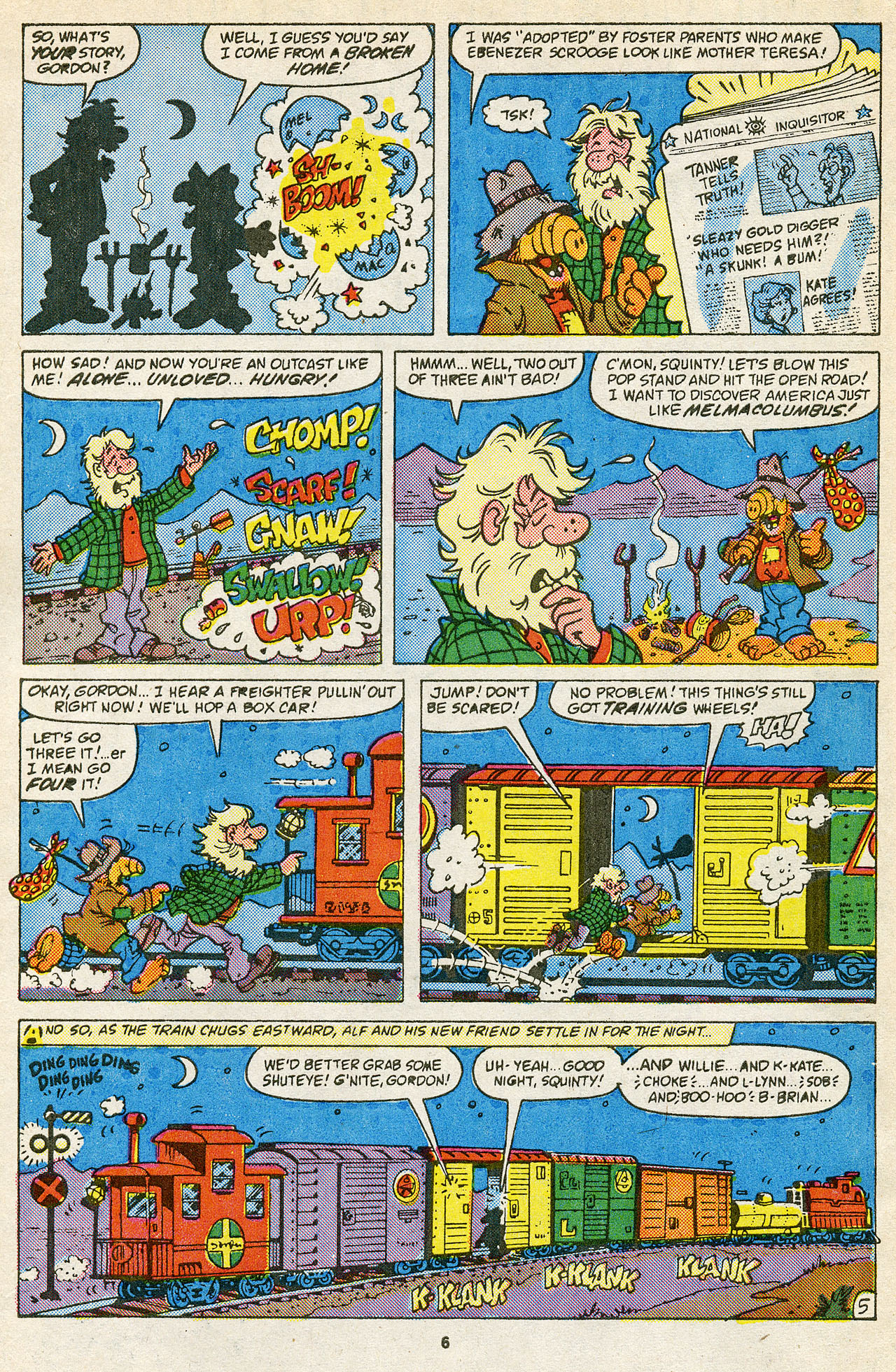Read online ALF comic -  Issue #15 - 8