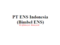 Lowongan Kerja PT ENS Indonesia (Bimbel ENS) Terbaru