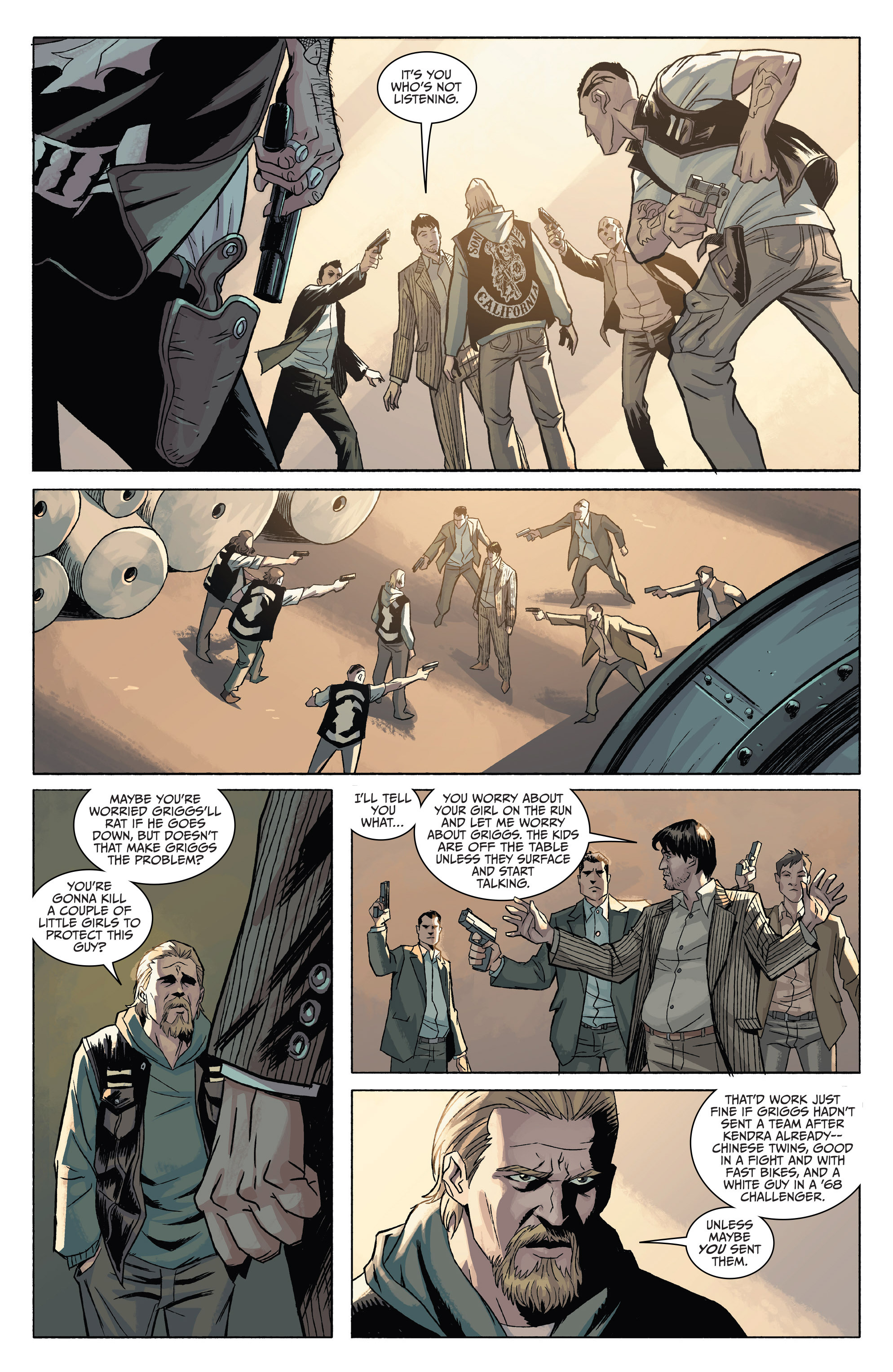 Read online Sons of Anarchy comic -  Issue #4 - 9