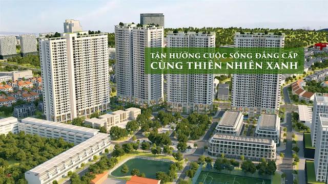 Phối cảnh dự án Gelexia Riverside 885 Tam Trinh Hoàng Mai