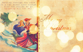The Disney Princess Wish You Merry Christmas in a Retro Style.