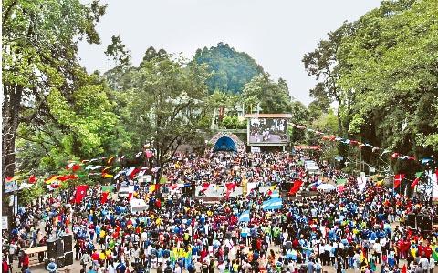 World Cup fever in Darjeeling