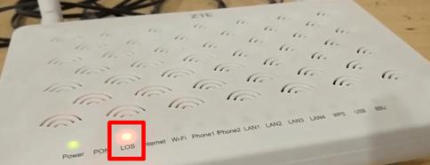 Cara Ampuh Untuk Mengatasi Indikator Lampu LOS Berkedip