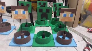 Centros de Mesa de Minecraft