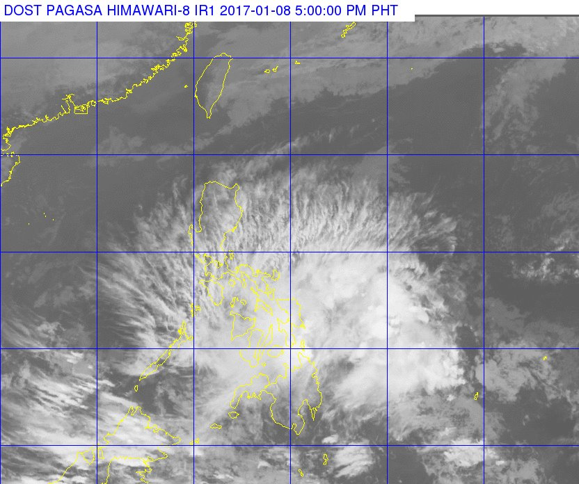 'Bagyong Auring' makes landfall over Siargao Island