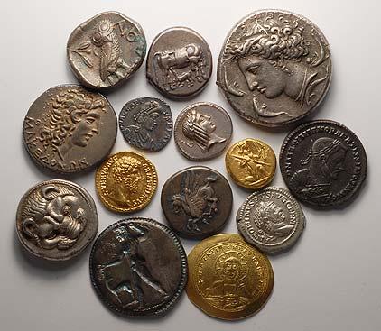 valuación de monedas antiguas
