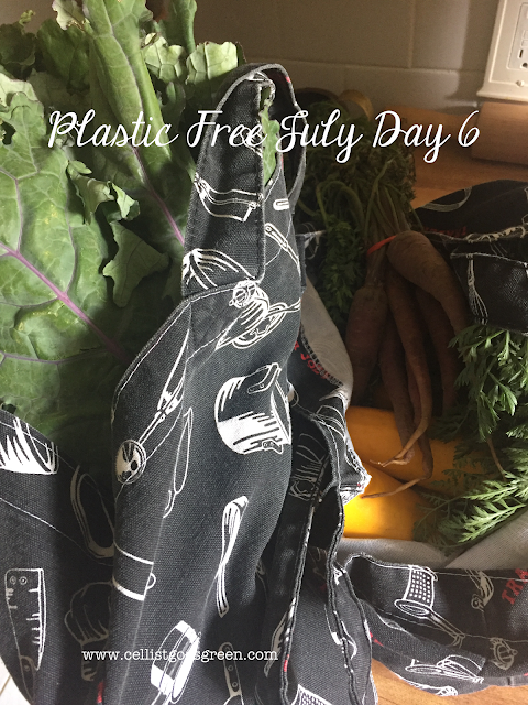 Plastic Free July Day 6 Farmers Market