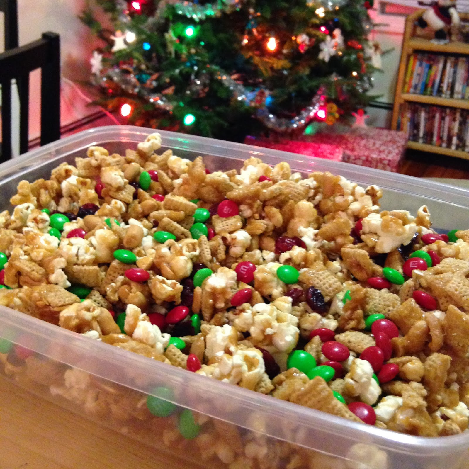 Fuel For The Distance: Annual Batch Of Christmas Chex Mix