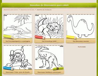 http://www.colorirgratis.com/desenhos-de-dinossauros-para-colorir.html