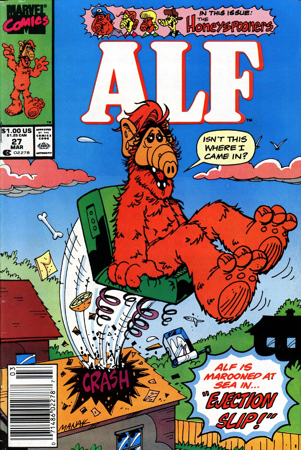 Read online ALF comic -  Issue #27 - 1