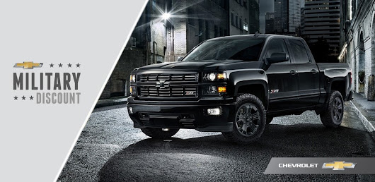 John Elway Chevrolet Participates in Chevrolet Military Discount Program