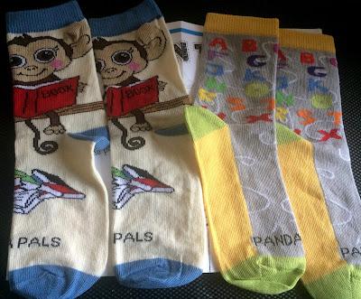 panda pal socks from sock panda in size medium