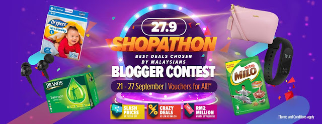 Lazada Shopathon Blogger Contest: Join Session #2 Now!