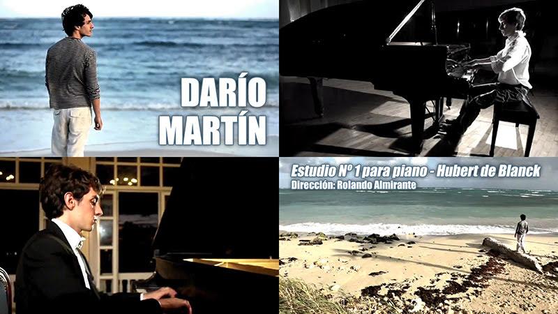 Darío Martín - ¨Estudio Nº 1 para piano¨ de Hubert de Blanck - Videoclip - Dirección: Rolando Almirante. Portal del Vídeo Clip Cubano