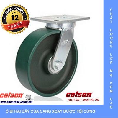 Báo giá bánh xe chịu lực Colson Caster Mỹ www.banhxeday.xyz