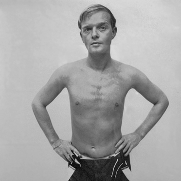 Famous Writers Shirtless: Truman Capote | The Toolbox