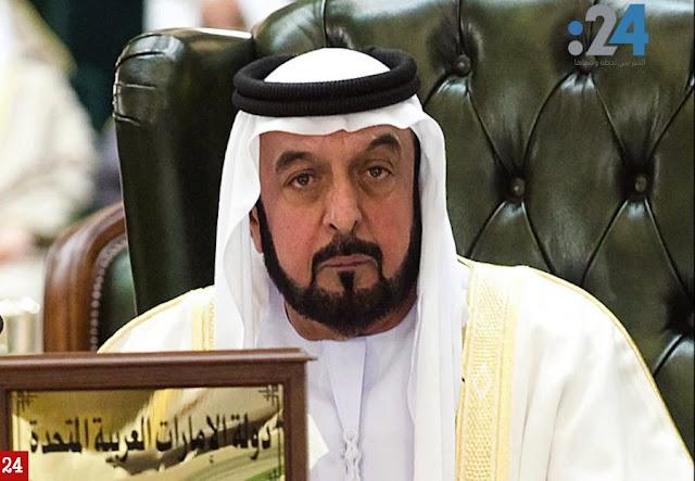 أول ظهور علني للشيخ خليفة رئيس الإمارات منذ 3 سنوات, شاهد كيف تغيرت ملامحه,  بالفيديو
