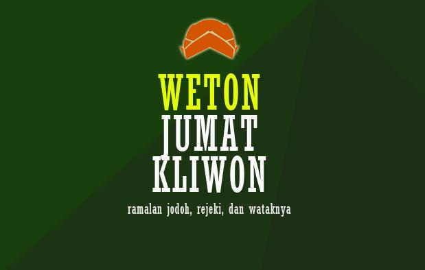 Weton Jumat Kliwon