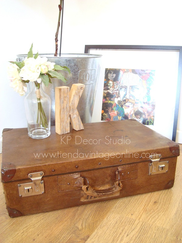 Kp tienda vintage online maleta antigua decoraci n color - Maletas antiguas decoracion ...
