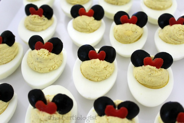 cute minnie mouse eggs