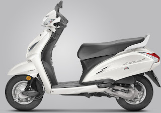 Honda Activa 5G Pearl Amazing White  Colour