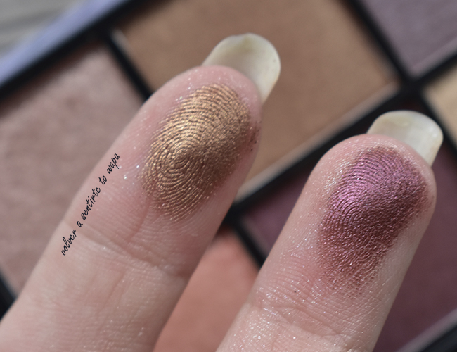 Paleta Cosmic Metals de Nyx - Review & Swatches
