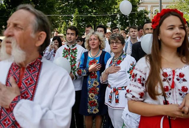 Дневник киевлянки: на Украине забывают русский и учат польский