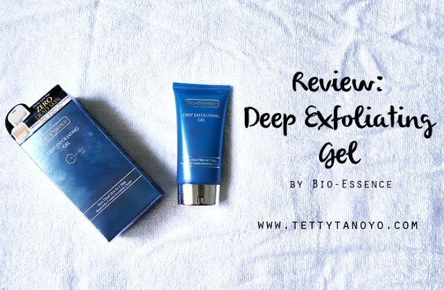 Review: Deep Exfoliating Gel royal Jelly+ATP Bio-Essence Gel Ampuh Pembasmi Komedo