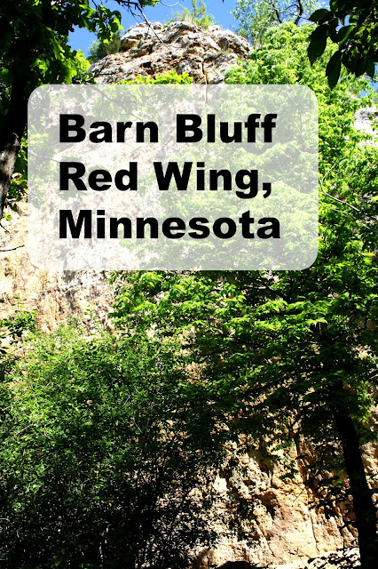 Barn Bluff in Red Wing, Minnesota