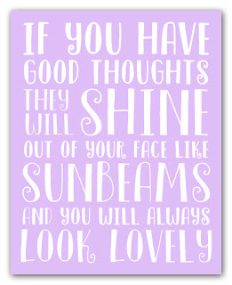 roald dahl inspirational quote print