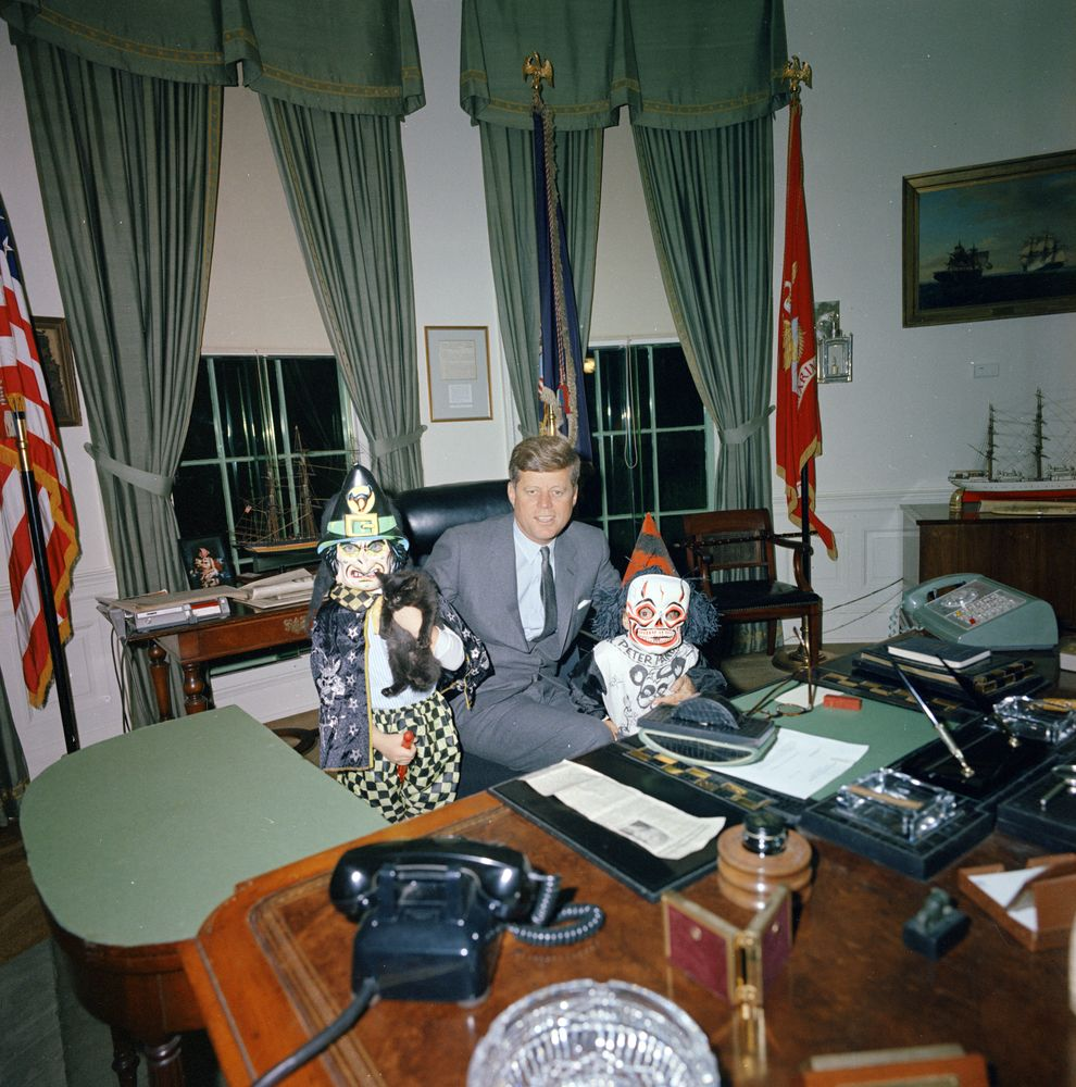 Wonderful Photos of President John F. Kennedy with His ...
