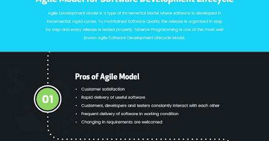Agile Model for Software Development Lifecycle