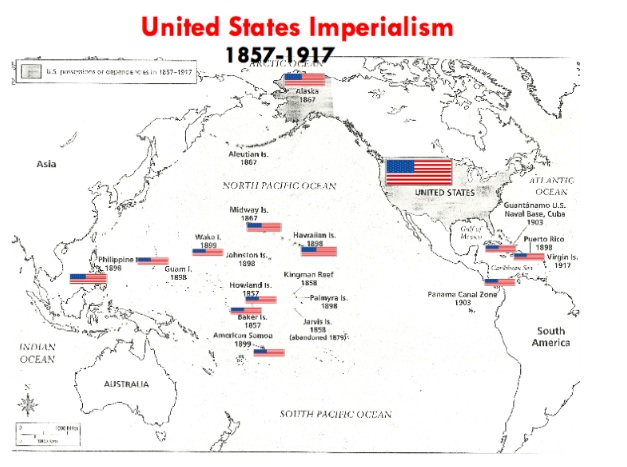 imperialism in the united states Furthermore, the general declared, the united states did not recognize the rebel  army and wished it to disband this abrupt turnaround.