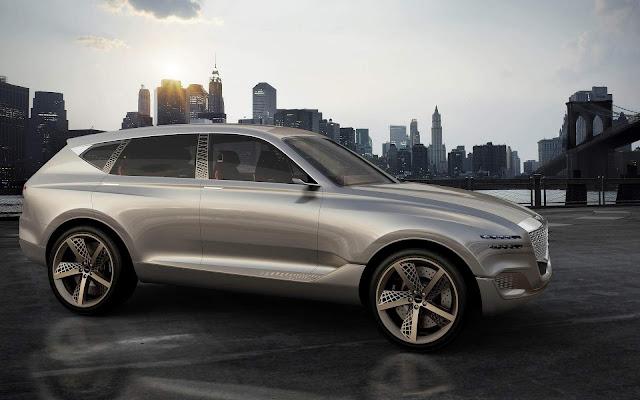 Genesis GV80: conceito antecipa SUV de luxo da Hyundai