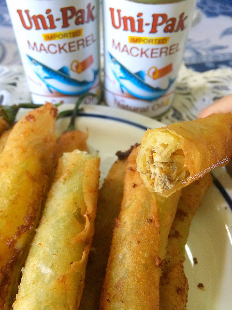 Mackerel Dynamite Roll
