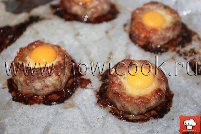 рецепт котлет с перепелиными яйцами с пошаговыми фото