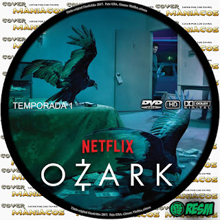 GALLETA  [SERIE TV] OZARK - TEMPORADA 1 - [2018] [COVER DVD]
