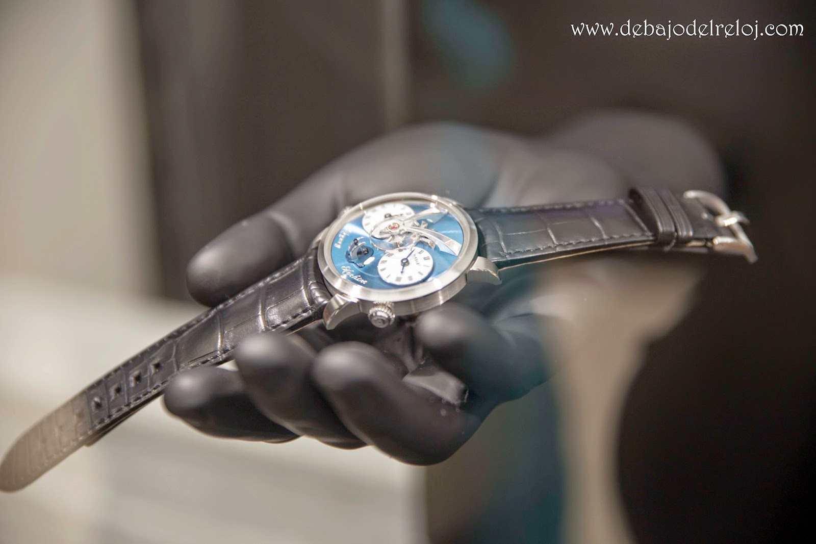 MB&F LM101 Frost Limited Edition5