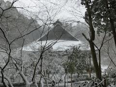 雪の妙本寺