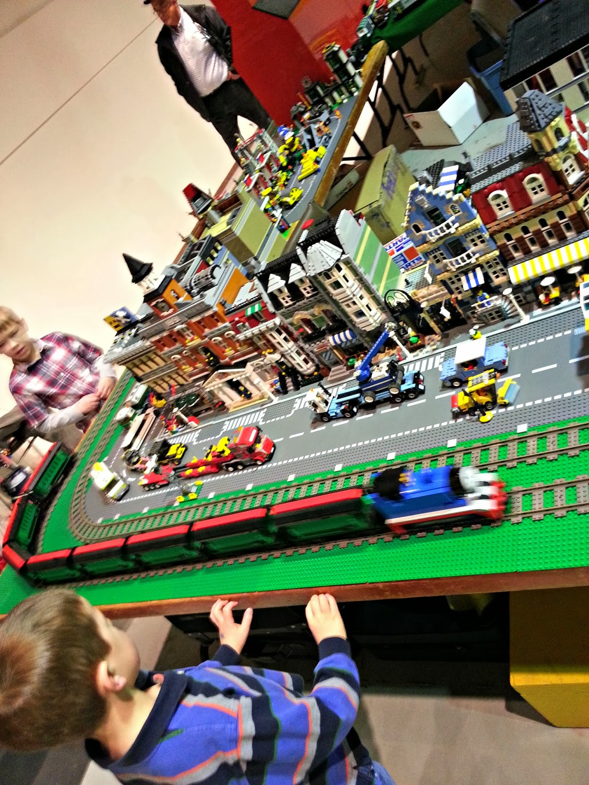{ all aboard for the model train show }