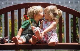 Top latest hd Baby Boy to Girl frist kiss images photos pic wallpaper free download 53